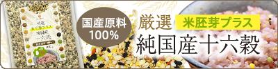 厳選 米胚芽プラス 純国産十六穀